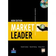 Market Leader Elementary Coursebook/Multi-Rom Pack - David Cotton