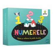 Numerele. Cartoane de perete educative si decorative