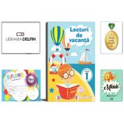 Pachet DZC: Lecturi de vacanta clasa 1 - Editura Elicart, Miade (Contribuie la cresterea fluentei in citire) Diploma si Medalie.