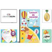 Pachet DZC: Lecturi de vacanta clasa 2 - Editura Elicart, Miade (Contribuie la cresterea fluentei in citire) Diploma si Medalie.