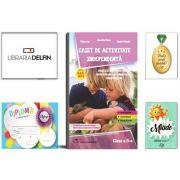Pachet DZC: Caiet de activitate independenta, pentru clasa a 2-a, Editura Delta Cart. Miade (Contribuie la cresterea fluentei in citire) Diploma si Medalie.