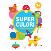Superculori. Coloram dupa model 2+