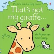 That's not my giraffe... its horns are too fuzzy.