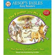 The Farmer and His Sons with The Donkey and the Lion's Den - Aesop's Fables