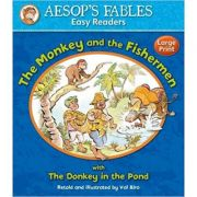 The Monkey and the Fishermen with The Donkey in the Pond - Aesop's Fables