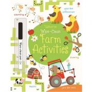 Usborne - Wipe-clean Farm Activities