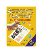 Activitati practice cu autocolante pentru 5-7 ani