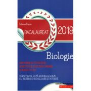 Biologie Bacalaureat 2019. Anatomie si fiziologie, genetica si ecologie umana, clasele XI-XII - Liliana Pasca