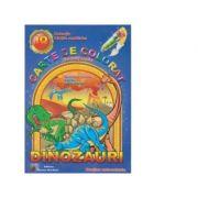 Carte de colorat si activitati practice - Dinozauri