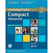 Compact Advanced - Student's Book (without Answers with CD-ROM)