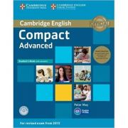Compact Advanced Student's Book Pack (Student's Book with Answers with CD-ROM and Class 2x Audio CDs)
