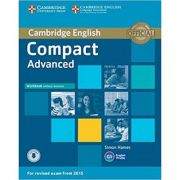 Compact Advanced Workbook without Answers (with Audio)