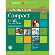 Compact First - Student's Book (with Answers and CD-ROM)
