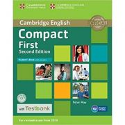 Compact First - Student's Book (with Answers with CD-ROM and Testbank)