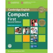 Compact First - Student's Book Pack (Student's Book with Answers with CD-ROM and 2x Class Audio CDs)