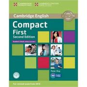 Compact First - Student's Book without Answers (with CD-ROM)