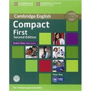 Compact First - Student's Pack (Student's Book without Answers with CD ROM, Workbook without Answers with Audio)