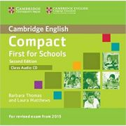 Compact First for Schools (Class Audio CD)