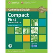 Compact First Workbook (with Answers and Audio)