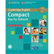 Compact Key for Schools - Student's Book without Answers (with CD-ROM)
