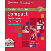 Compact Preliminary for Schools - Workbook (without Answers with Audio CD)