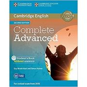 Complete Advanced - Student's Book (without Answers with CD-ROM)