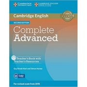 Complete Advanced - Teacher's Book (with Teacher's Resources CD-ROM)