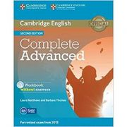 Complete Advanced - Workbook (without Answers with Audio CD)