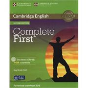 Complete First - Student's Book (with Answers and CD-ROM)