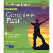 Complete First - Student's Book Pack (Student's Book with Answers with CD-ROM and 2x Class Audio CDs)
