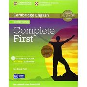Complete First - Student's Pack (Student's Book without Answers with CD-ROM, Workbook without Answers with Audio CD)