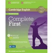 Complete First - Workbook (with Answers and Audio CD)