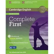 Complete First - Workbook (without Answers with Audio CD)