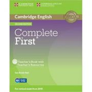 Complete First -Teacher's Book (with Teacher's Resources CD-ROM)