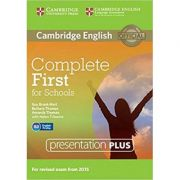 Complete First for Schools - Presentation Plus (DVD-ROM)