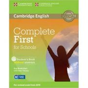 Complete First for Schools - Student's Book (without Answers with CD-ROM)