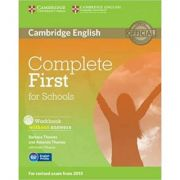 Complete First for Schools - Workbook (without Answers with Audio CD)