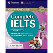 Complete IELTS: Bands 4-5 - Student's Book (with Answers, CD-ROM and Testbank)