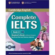 Complete IELTS: Bands 4-5 - Student's Book (without Answers with CD-ROM)
