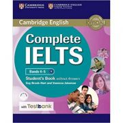 Complete IELTS: Bands 4-5 - Student's Book (without Answers with CD-ROM and Testbank)