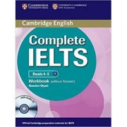 Complete IELTS: Bands 4-5 - Workbook (without Answers with Audio CD)
