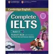 Complete IELTS: Bands 4-5 Student's Pack (Student's Book with Answers, CD-ROM and 2xClass Audio CDs)
