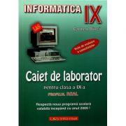 Informatica - Caiet de laborator pentru clasa a IX-a - Profilul real. Teste de evaluare a cunostintelor