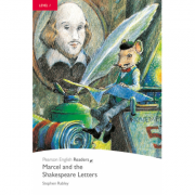 Level 1: Marcel and the Shakespeare Letters Book and CD Pack - Stephen Rabley