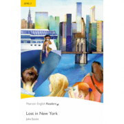 Level 2. Lost In New York Book and MP3 Pack - John Escott