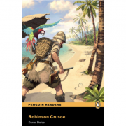 Level 2: Robinson Crusoe Book and MP3 Pack - Daniel Defoe