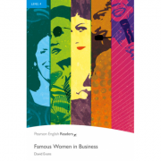 Level 4: Famous Women in Business Book and MP3 Pack - David Evans