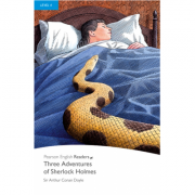 Level 4. Three Adventures of Sherlock Holmes Book and MP3 Pack - Sir Arthur Conan Doyle