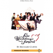 Level 5: Four Weddings and a Funeral Book and MP3 Pack - Richard Curtis