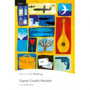 Level 6: Captain Corellis Mandolin Book and MP3 Pack - Louis de Bernieres